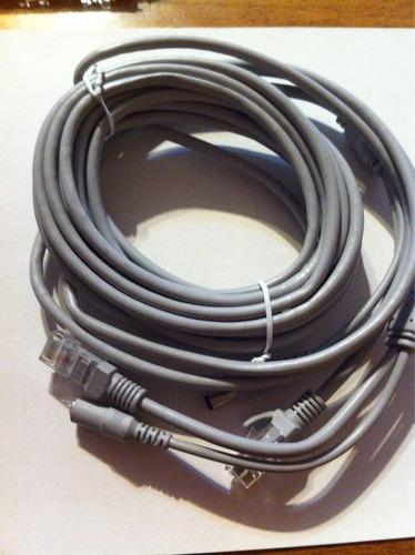 cable de red más corriente para cámaras 5 mtsmts