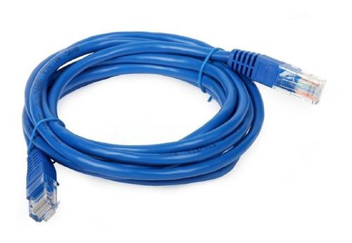 cable de red patch cord 2 metros armado utp cat. 5e rj45