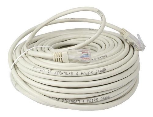 cable de red patch cord 5 metros armado rj45 ethernet lanus
