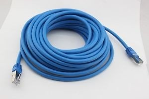 cable de red patch cord cat5-e 1 metro azul