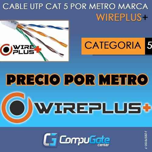 cable de red por metro utp cat5 nivel 5e internet cat5e 5