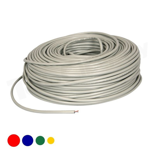 cable de red utp 20 metros con fichas rj45 todociber