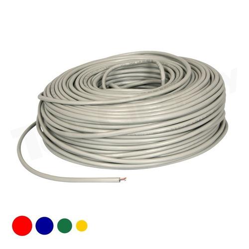 cable de red utp 30 metros con fichas rj45 todociber