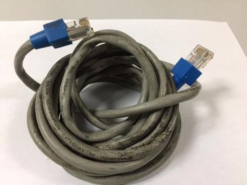 cable de red utp 5e gris  usado 2 mts tienda virtual