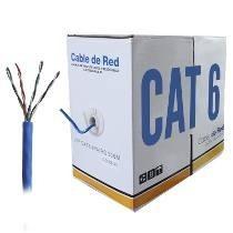cable de red utp amp cat6e 305m