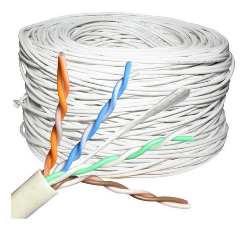 cable de red utp cat 5e interior 10 metros camaras cctv