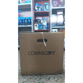 Cable De Red Utp Commscope Cat 6 Caja Bobina 305 Mts