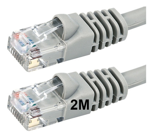 cable de red utp patchcord 2 metros inyectados cat5e ditron