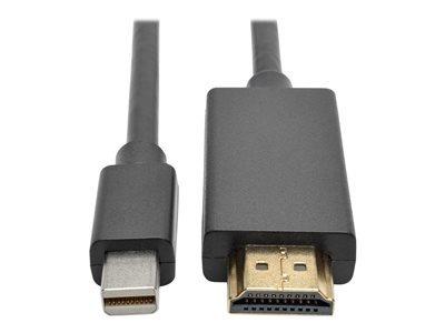 cable de vídeo / audio - displayport / hdmi - hdmi (m) a min