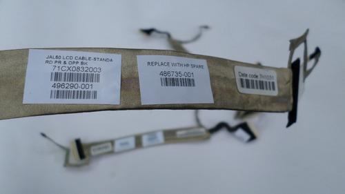 cable de video flex hp compaq dv4 series cq40 cq41 cq45 14.1