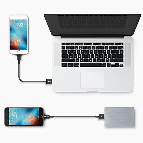cable del relámpago, smallelectric 10 cargador del iphone 3