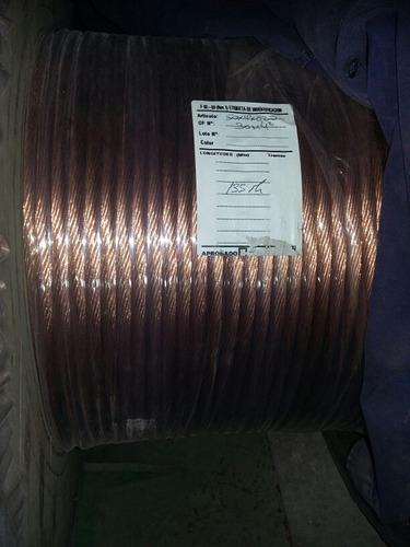 cable desnudo flexible para soldadoras