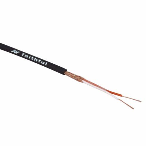 cable dmx 6,5mm bipolar balanceado 120 ohm faithful 100 mts