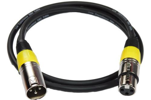 cable dmx profesional skp canon canon 1 mts hamc amarillo