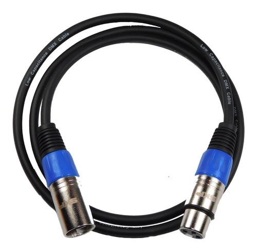 cable dmx profesional skp canon canon 1 mts hamc azul