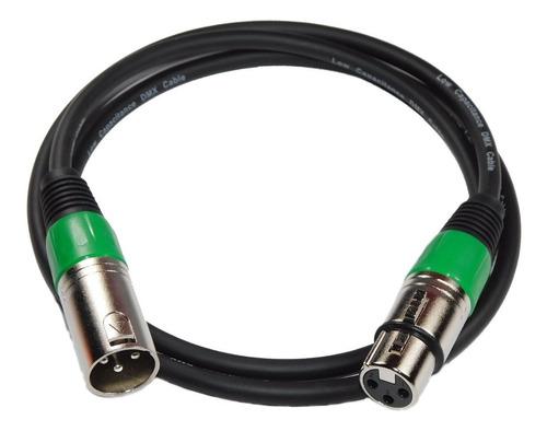 cable dmx profesional skp canon canon 1 mts hamc verde