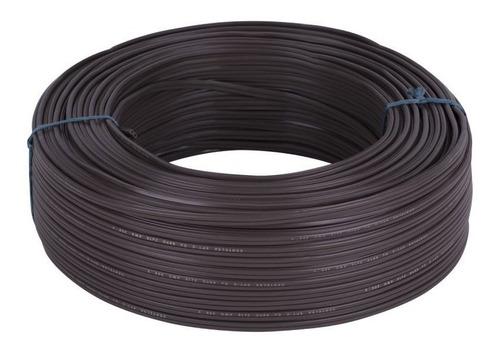 cable duplex 2x16 cafe 100mt centelsa