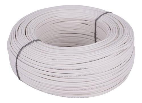 cable dúplex 2x18 blanco 100mt centelsa