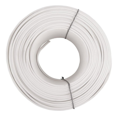 cable duplex 2x18 blanco por rollo de 100mts, centelsa