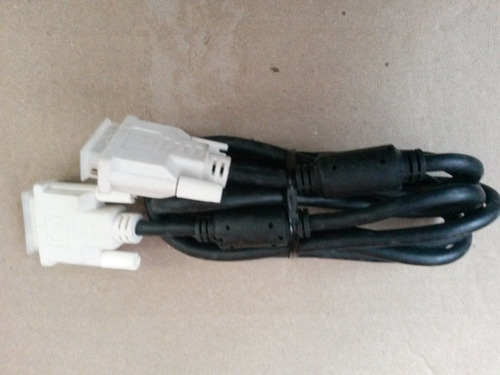cable dvi 18 pines doble filtro para monitor o video beam