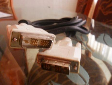 cable dvi 18x1 pin macho+filtro 1.8mts