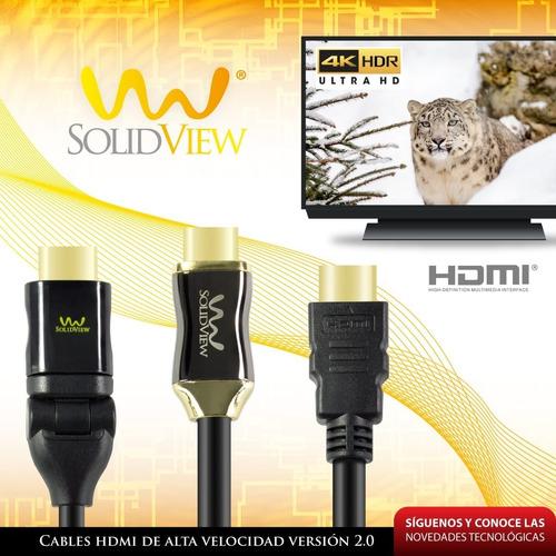 cable dvi a hdmi 1.8mt solidview