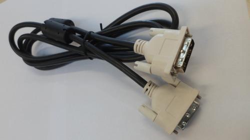 cable dvi-d 18+1 macho macho filtros 1.8 mts e+