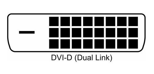 cable dvi-d 24+1 macho / hdmi macho dual link 3 mts nisuta