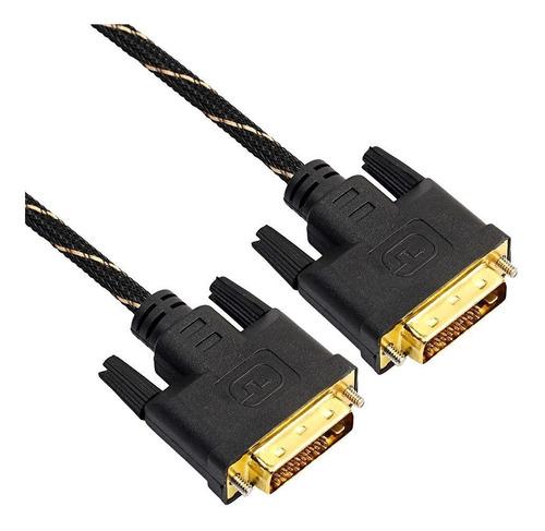 cable dvi d a dvi d dual link 1.5 metros filtros monitor