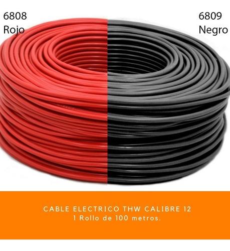 cable electrico thw alucobre calibre 12 100 mts 600v aislado