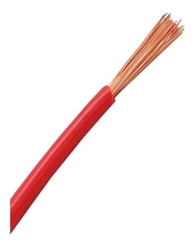 cable eléctrico unipolar cu12r calibre 12 rojo 100 mts munic