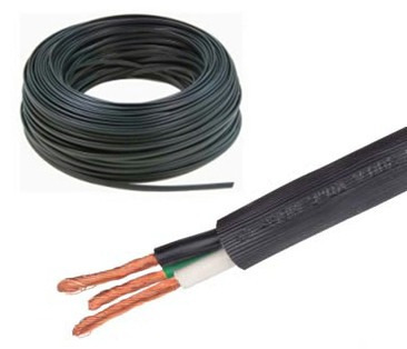 Cable electrico uso rudo 3x12 extension 2 8 mts industrial - Cable electrico exterior ...