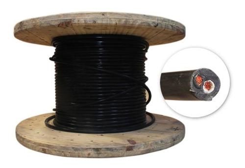 cable encauchetado 2 x 10 x m cst-p awg cu 600v 75c procable