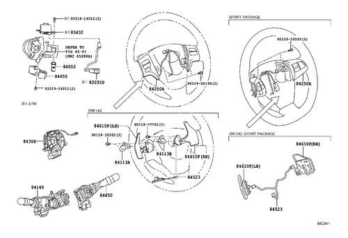 cable espiral flex toyota tundra 4.6 v8 2011 2012 2013 c30
