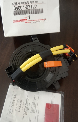 cable espiral fortuner hilux kavak original (no chino)25vds