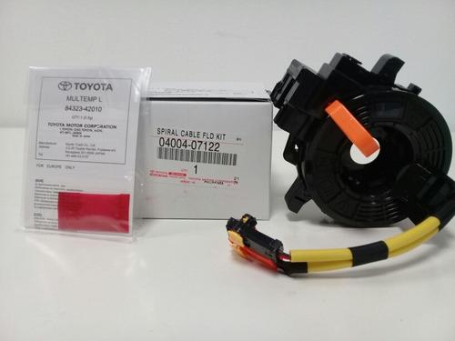cable espiral s/comando airbag bocina hilux 2005-2014