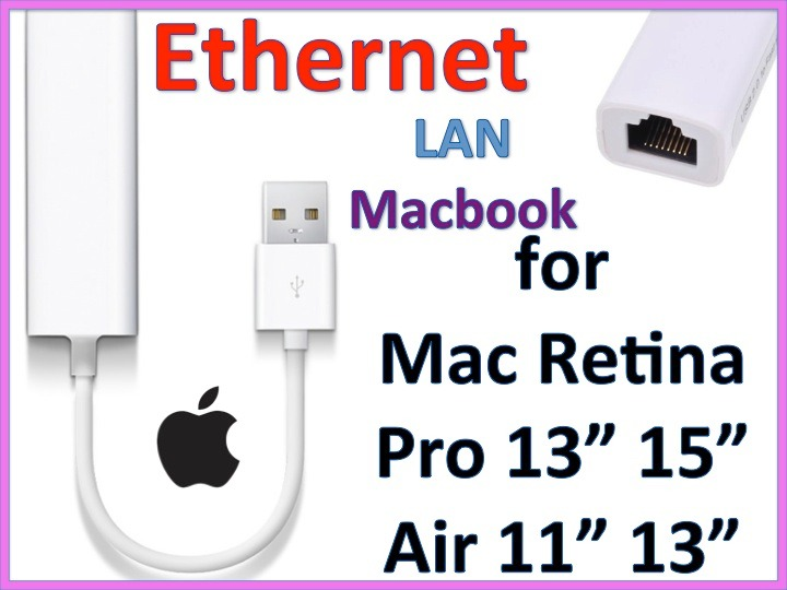 how to use an ethernet cable on macbook pro
