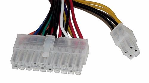 cable extensión 24 pines a 24 y 20+4 para fuente de poder