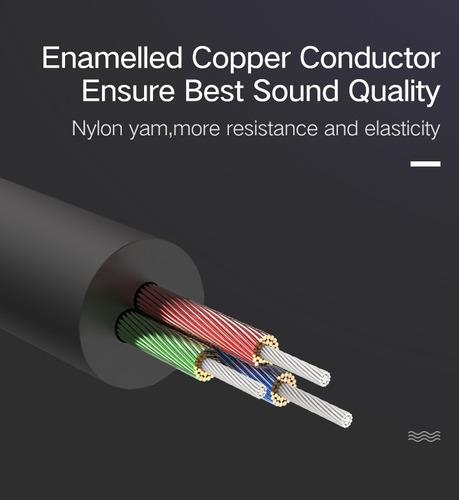 cable extensión profesional 3 metros para audifonos