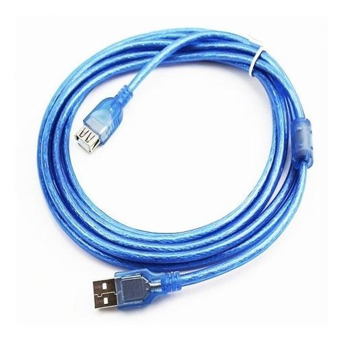 cable extensión usb 2.0 macho hembra 3 metros