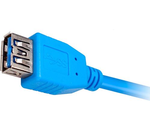 cable extensión xtech usb 3.0 macho a hembra xtc-353 1.8m