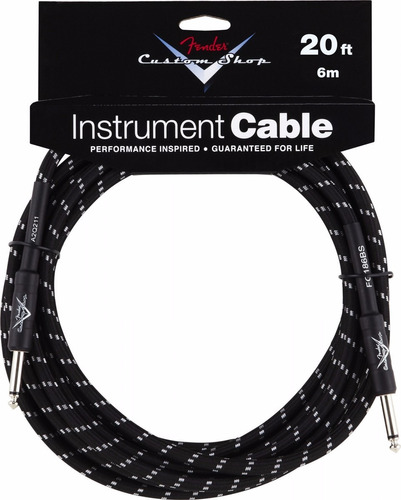cable fender custom shop 20´  6 metros
