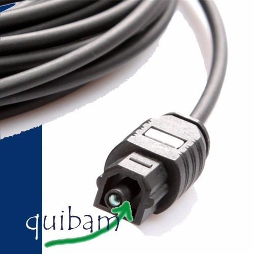 cable fibra optica 10 metros audio digital toslink