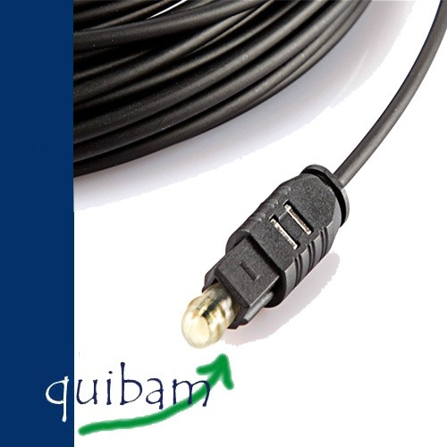 cable fibra optica 10 metros audio digital toslink