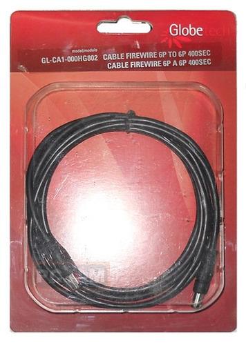 cable firewire de 6 a 6 pines de 2 mts 400sec
