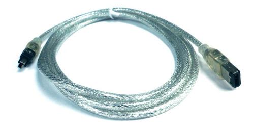 cable firewire de 6 pin a 4 pin 1.8 mts mallado v2023