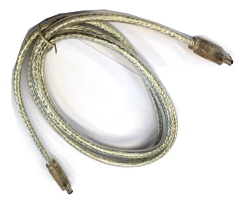 cable firewire de 6 pin a 6 pin 1.8 mts mallado c luz iz128+