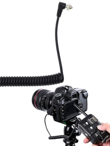 cable flash syncro s1 3,5mm 1/8  macho a pc