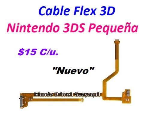 cable flex 3d nintendo 3ds pequeña