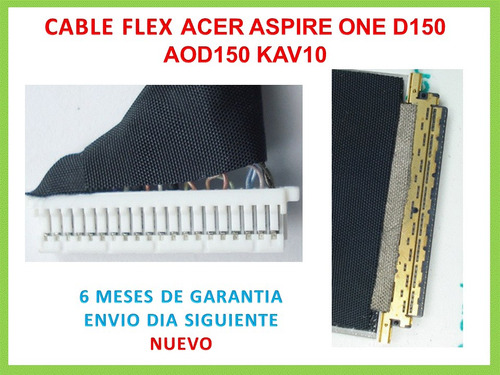 cable flex acer aspire one d150 aod150 kav10 nuevo